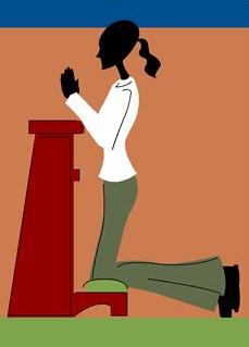prayer-kneel